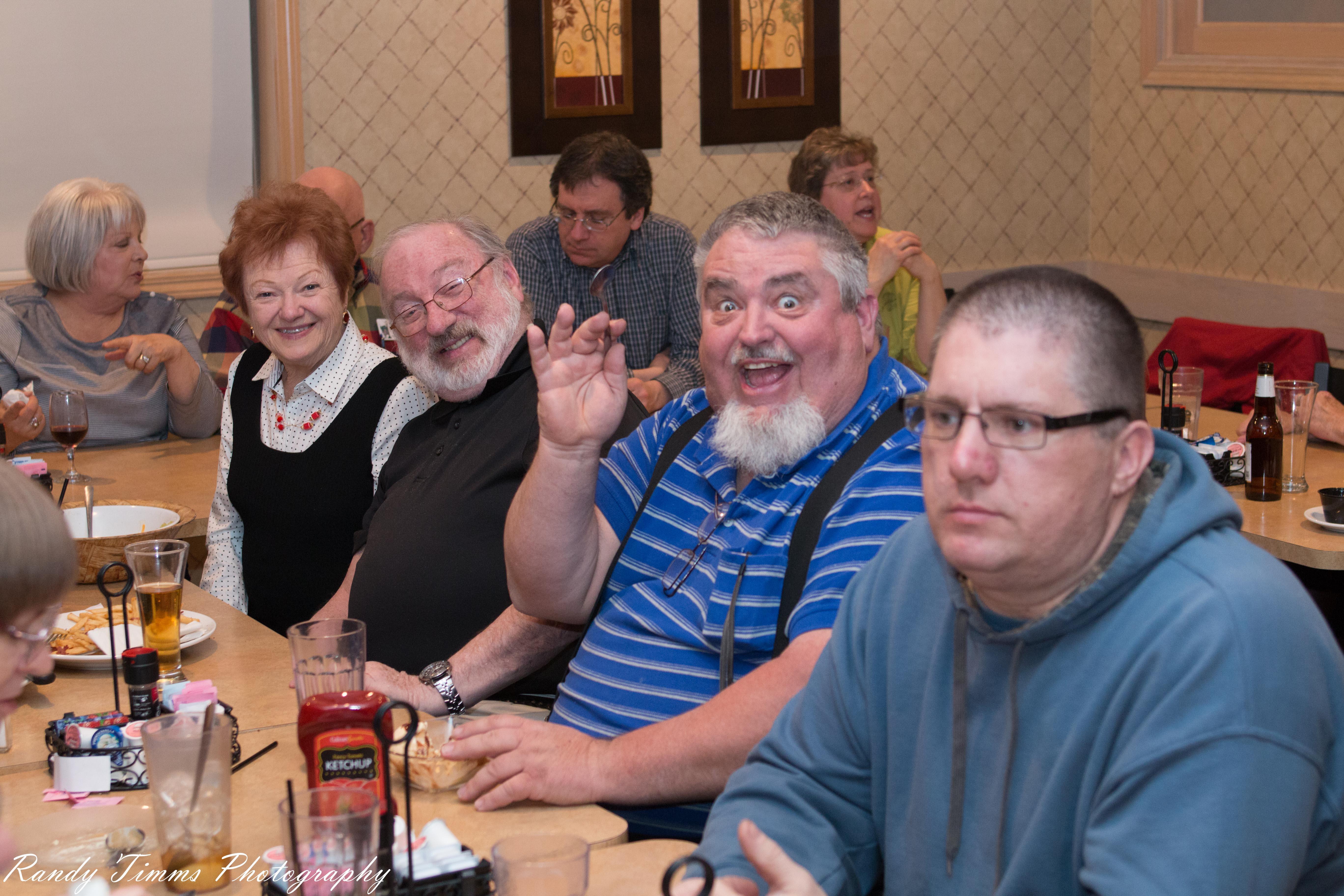 Tom W9VBQ, Scott KB9AMM and Kevin