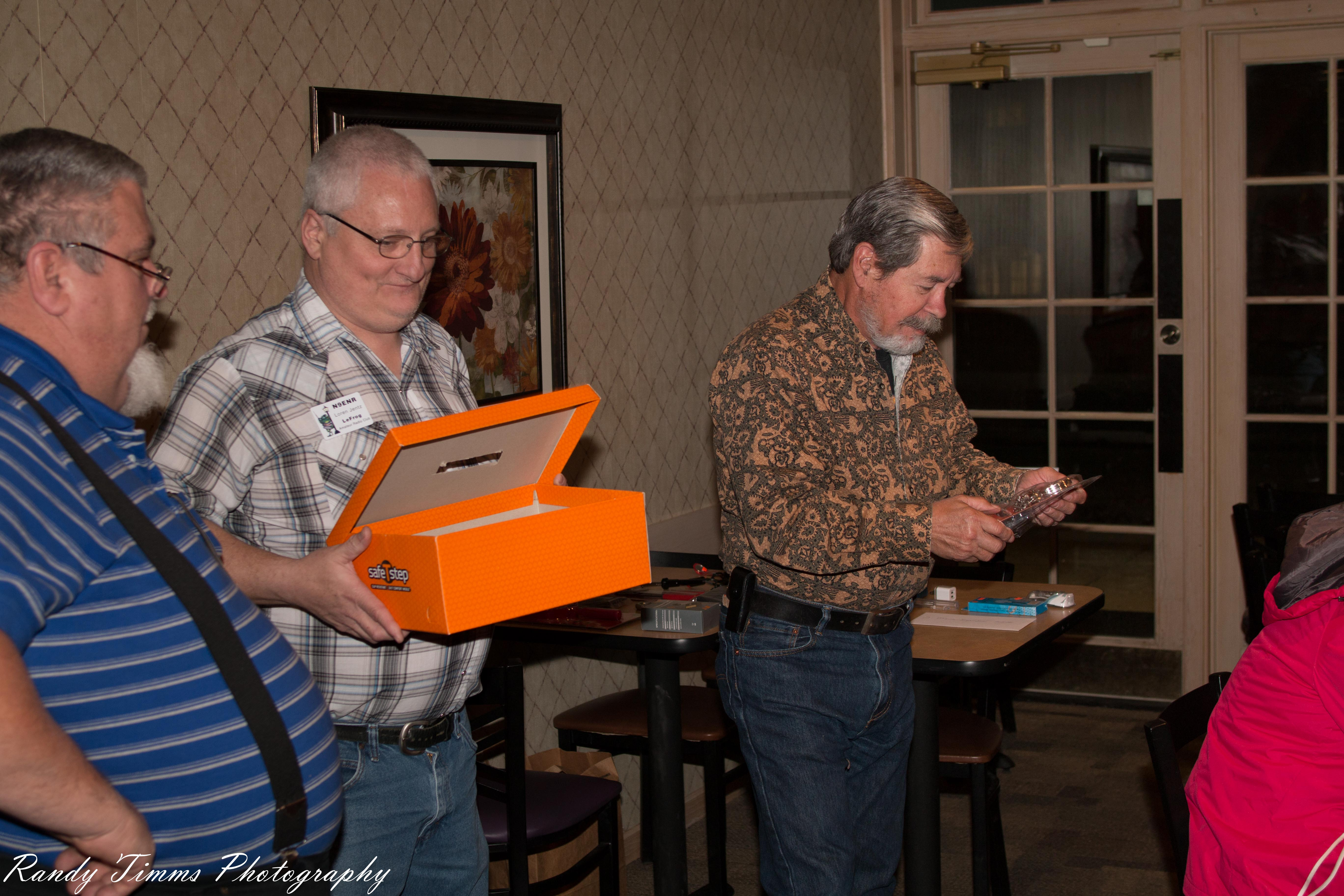 Scott KB9AMM, Loren N9ENR and Jim KI7CX